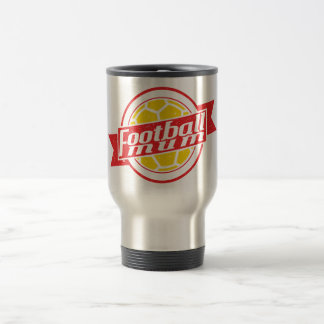 Football Mum Stainless Steel Travel Mug