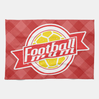 Football Mum Tea Towel