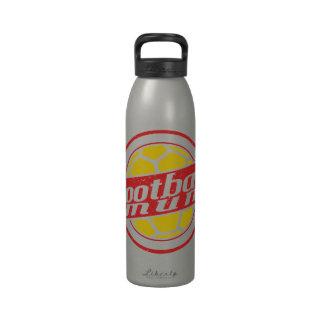 Football Mum Reusable Water Bottle