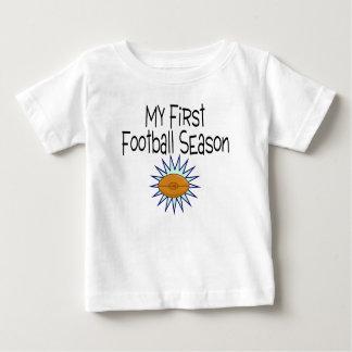 Football My First Football Season Football Baby T-Shirt