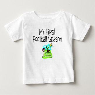 Football My First Football Season (Stick Figure) Baby T-Shirt