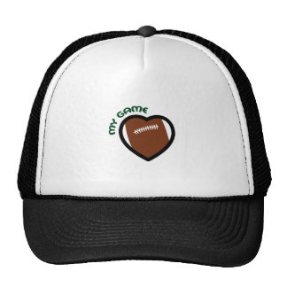 FOOTBALL MY GAME TRUCKER HATS