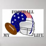 Football my Life Posterdruck