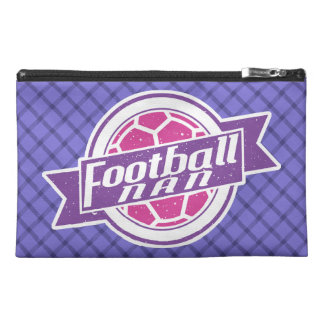 Football Nan (Grandmother) Cosmetics Bag