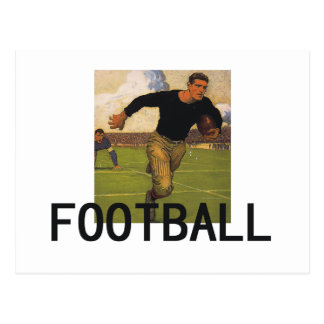 Football Old School Postcard