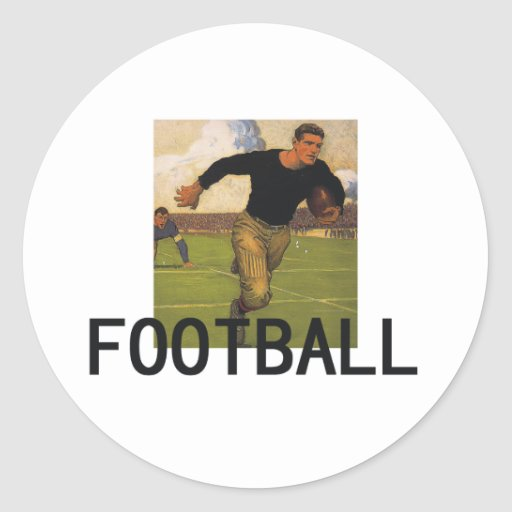 Football Old School Stickers