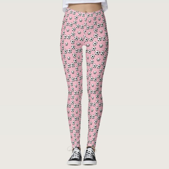 Football on background of your choice leggings
