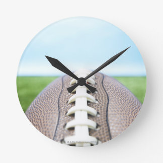 Football on Grass 2 Round Clock