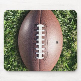 Football on Grass Mouse Mat