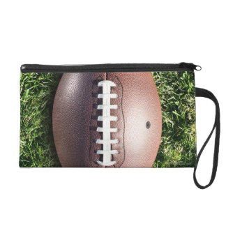 Football on Grass Wristlet