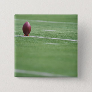 Football on Tee 15 Cm Square Badge
