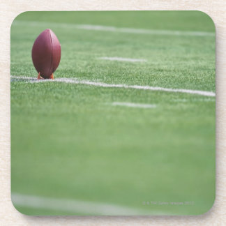 Football on Tee Coaster