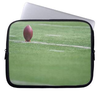 Football on Tee Laptop Sleeve