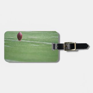 Football on Tee Luggage Tag