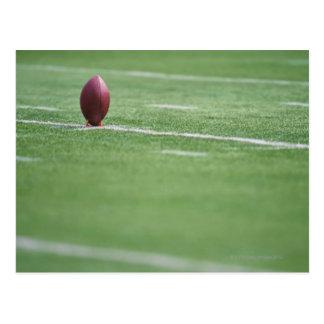 Football on Tee Postcard