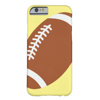 Football on yellow iPhone 6/6s, Barely There Barely There iPhone 6 Case