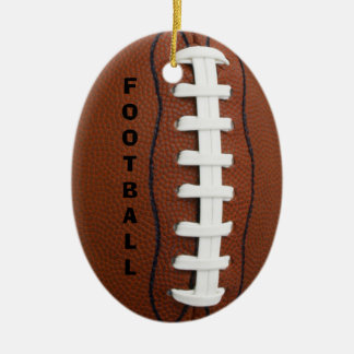 FOOTBALL ornament! Christmas Ornament