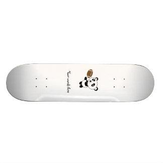 Football panda skate decks