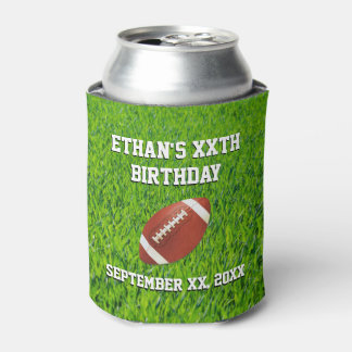 Football Party Custom Can Cooler