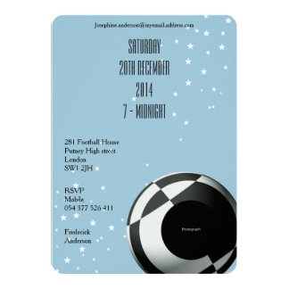 Football Party Invitations for Men