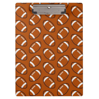 Football Pattern Clipboard