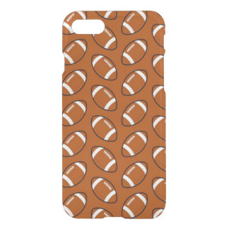Football Pattern iPhone 7 Clearly™ Case