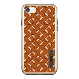 Football Pattern iPhone 7 Incipio Incipio DualPro Shine iPhone 8/7 Case