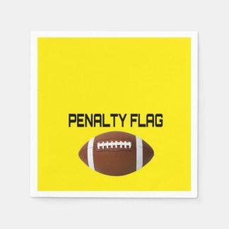 Football Penalty Disposable Serviette