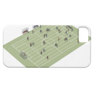 Football pitch iPhone 5 cases