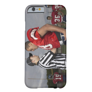 Football Player Arguing with Referee Barely There iPhone 6 Case