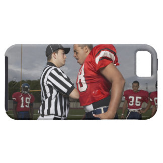Football Player Arguing with Referee iPhone 5 Covers
