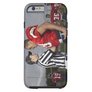 Football Player Arguing with Referee Tough iPhone 6 Case