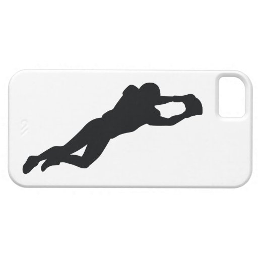 Football Player Black Silhouette iPhone 5 Covers