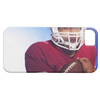 Football player carrying ball iPhone 5 case