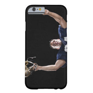 Football player celebrating barely there iPhone 6 case