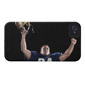 Football player celebrating Case-Mate iPhone 4 cases
