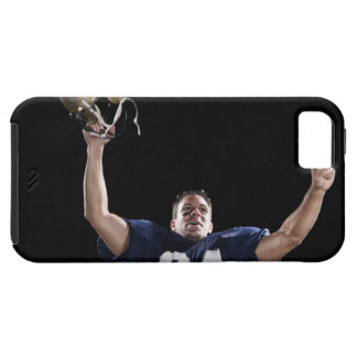Football player celebrating iPhone 5 cover