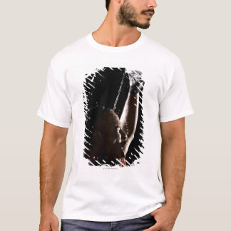 Football player cooling off with water T-Shirt