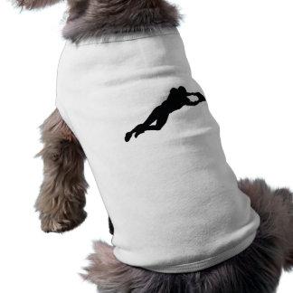 Football Player Pet T Shirt