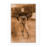 Football Player Early 1900s Postcard