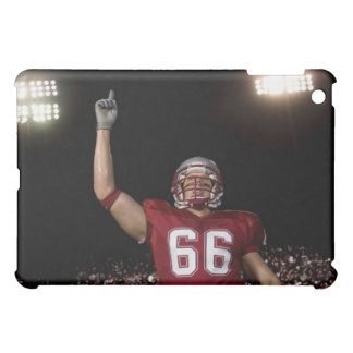 Football player holding up index finger iPad mini case