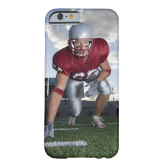 Football player in game stance barely there iPhone 6 case