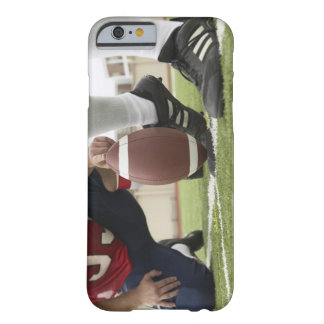 Football Player Kicking Football Barely There iPhone 6 Case