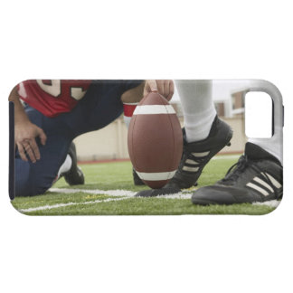 Football Player Kicking Football iPhone 5 Case