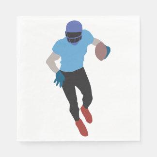 Football Player Paper Napkins