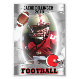 Football Player Photo Template Designs