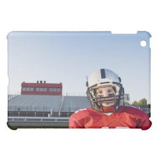 Football player posing on field iPad mini case