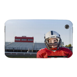 Football player posing on field iPhone 3 covers
