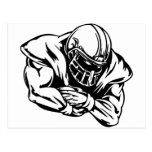 Football Player Post Cards