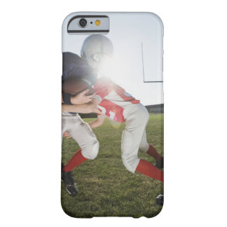 Football player tackling opponent barely there iPhone 6 case